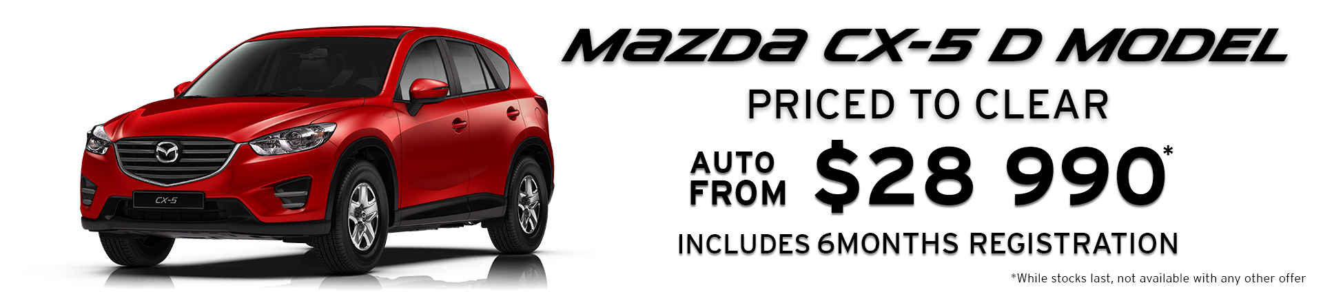 Offers Exclusive to Bayswater Mazda