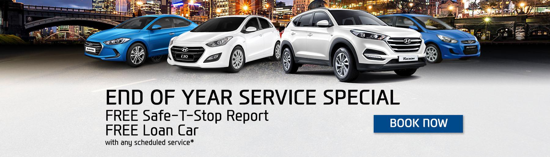 Yarra Hyundai Service Special