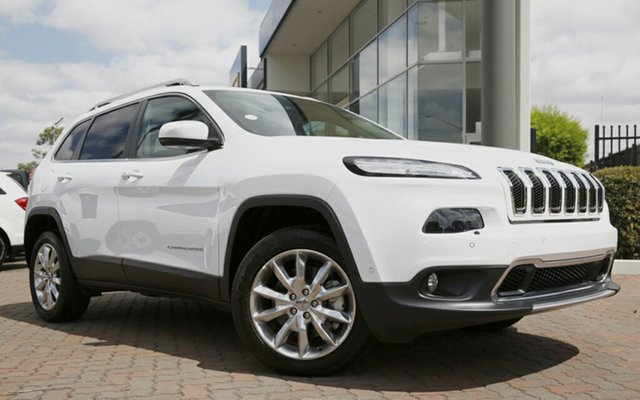 Discounted Demonstrator, Demo, Near New Jeep Cherokee Limited, Narellan, 2015 Jeep Cherokee Limited Wagon