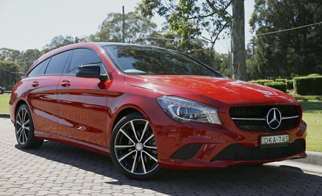 Used Mercedes-Benz CLA200 Shooting Brake DCT, Warwick Farm, 2015 Mercedes-Benz CLA200 Shooting Brake DCT Wagon