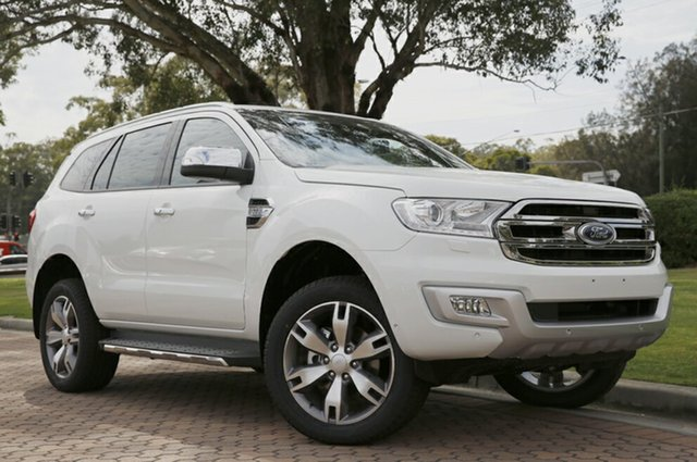 Discounted Demonstrator, Demo, Near New Ford Everest Titanium, Warwick Farm, 2016 Ford Everest Titanium SUV