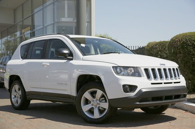 Discounted Demonstrator, Demo, Near New Jeep Compass Sport CVT Auto Stick, Narellan, 2015 Jeep Compass Sport CVT Auto Stick Wagon