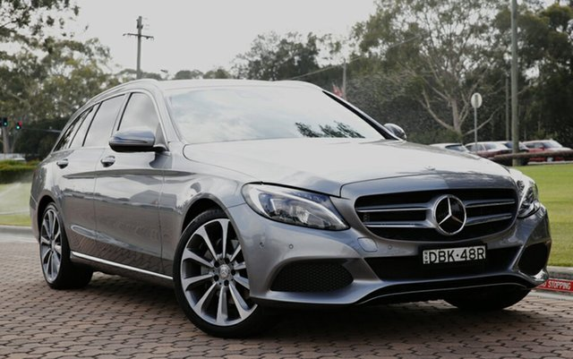 Used Mercedes-Benz C250 Estate 7G-Tronic +, Warwick Farm, 2015 Mercedes-Benz C250 Estate 7G-Tronic + Wagon