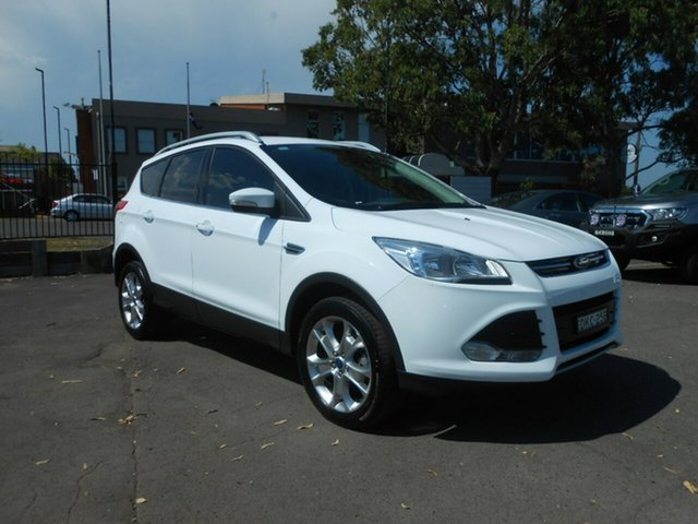 Used Ford Kuga Trend PwrShift AWD, Nowra, 2015 Ford Kuga Trend PwrShift AWD TF MY15 Wagon