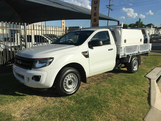 Used Ford Ranger XL 2.2 (4x2), Toowoomba, 2012 Ford Ranger XL 2.2 (4x2) Cab Chassis