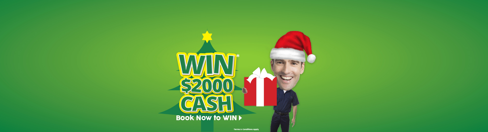 Win $2000 when you service with Giant Hyundai