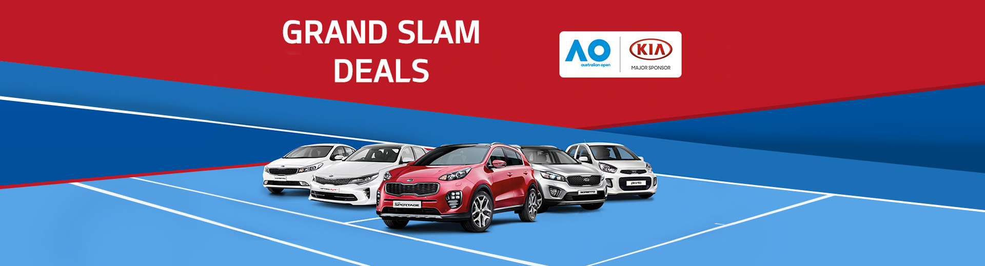 Kia - Grand Slam Deals