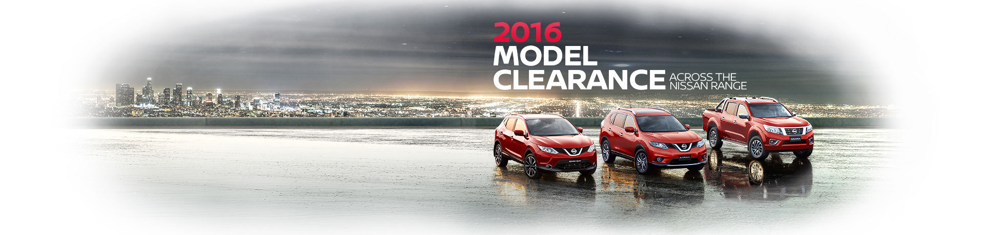 Nissan National Offer - 2016 Model Clearance