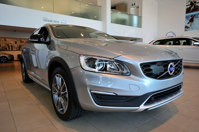 Demonstrator, Demo, Near New Volvo V60 Cross Country D4 Geartronic AWD Luxury, Southport, 2016 Volvo V60 Cross Country D4 Geartronic AWD Luxury Wagon