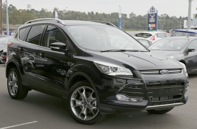 Demonstrator, Demo, Near New Ford Kuga Titanium AWD, Narellan, 2016 Ford Kuga Titanium AWD SUV