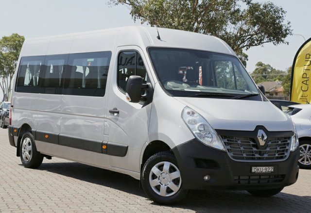 Discounted Demonstrator, Demo, Near New Renault Master Mid Roof LWB AMT, Narellan, 2016 Renault Master Mid Roof LWB AMT Bus