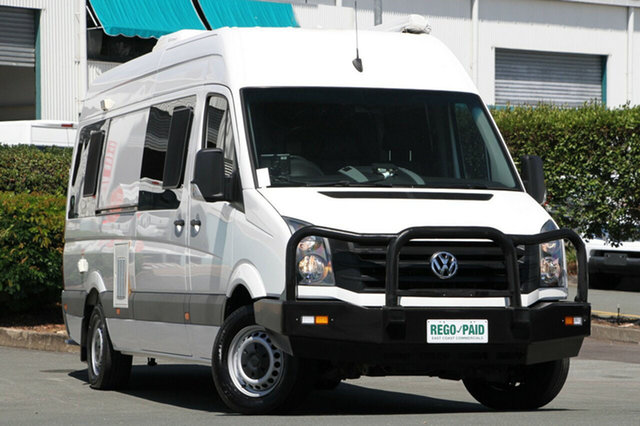 Discounted Used Volkswagen Crafter 50 High Roof LWB TDI400, Acacia Ridge, 2014 Volkswagen Crafter 50 High Roof LWB TDI400 2EX2 MY15 Van