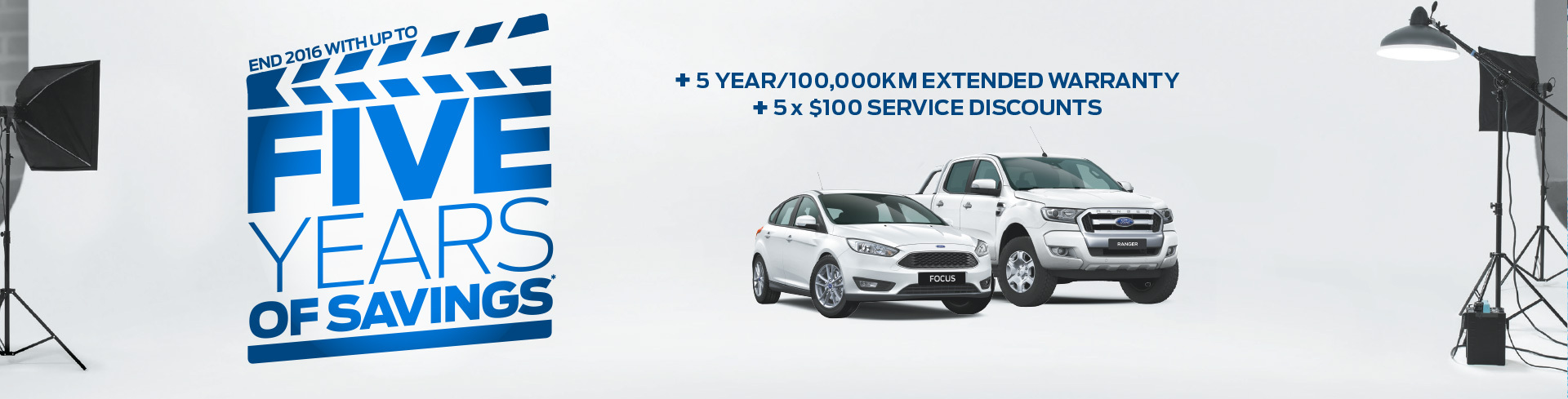 Ford National Offer - Five Years Of Savings