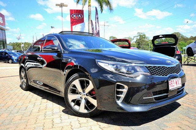 Discounted Demonstrator, Demo, Near New Kia Optima GT, Southport, 2016 Kia Optima GT Sedan