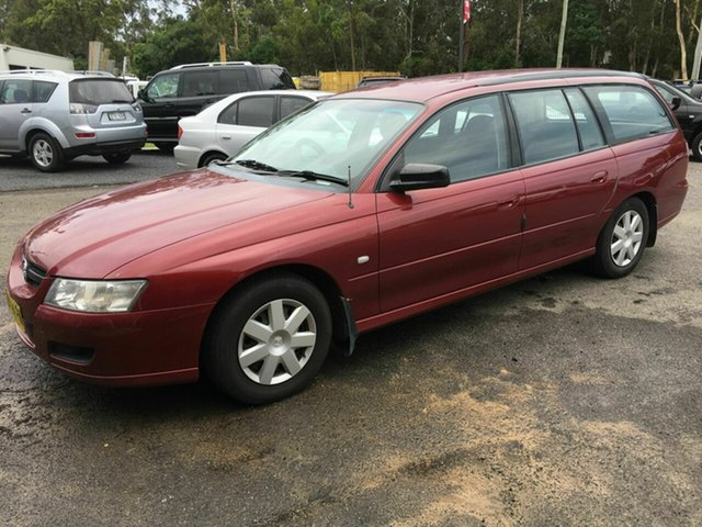 Used Holden Commodore VZ Exec, 2007 Holden Commodore VZ Exec Maroon 4 Speed Automatic Wagon