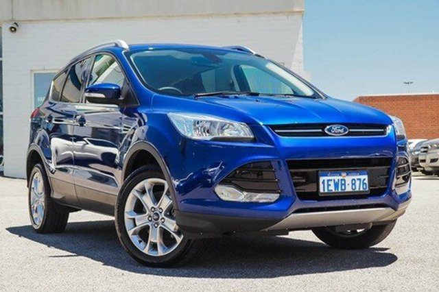 Demonstrator, Demo, Near New Ford Kuga Trend PwrShift AWD, Morley, 2015 Ford Kuga Trend PwrShift AWD Wagon