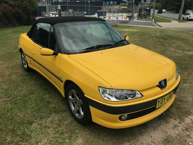 Used Peugeot 306, Burleigh Heads, 2000 Peugeot 306 N5 MY01 Convertible