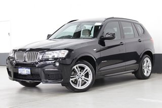 2012 BMW X3 xDrive 30D Wagon.