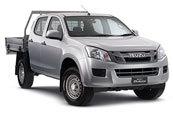 New Isuzu D-MAX 4x2 Crew Cab Chassis SX, Blue Ribbon Motors, Yamanto