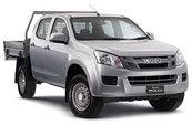 New Isuzu D-MAX 4x4 Crew Cab Chassis SX, Blue Ribbon Motors, Yamanto