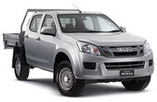 D-MAX 4x4 Crew Cab Chassis SX