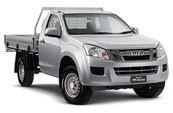 New Isuzu D-MAX 4x4 Single Cab Chassis SX, Blue Ribbon Motors, Yamanto