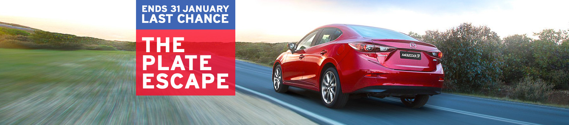 Mazda - 2016 Plate Clearance