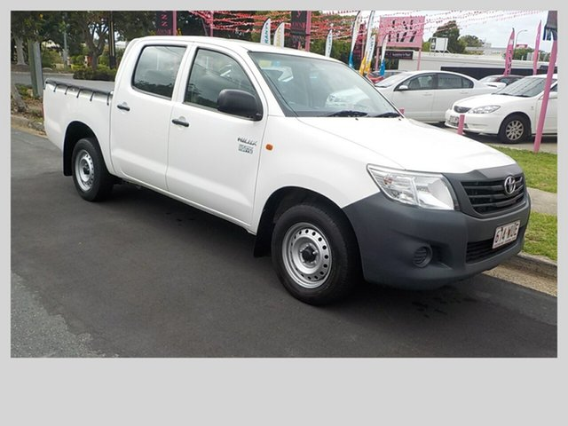 Used Toyota Hilux Workmate, Margate, 2011 Toyota Hilux Workmate Dual Cab