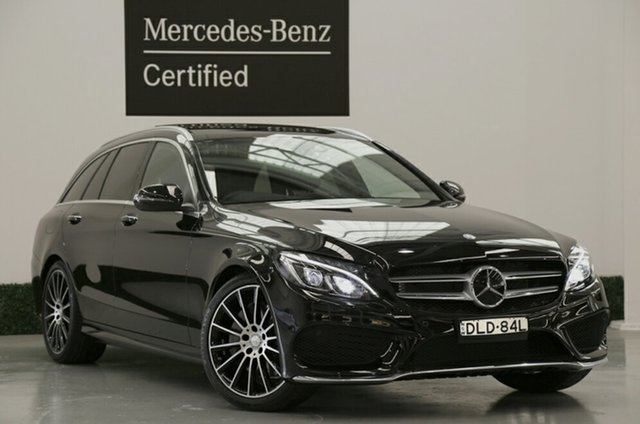 Demonstrator, Demo, Near New Mercedes-Benz C250 Estate 9G-TRONIC, Narellan, 2016 Mercedes-Benz C250 Estate 9G-TRONIC Wagon