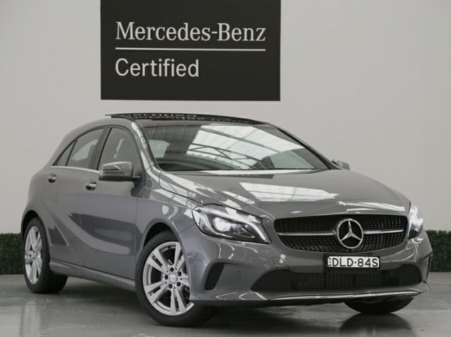 Demonstrator, Demo, Near New Mercedes-Benz A180 D-CT, Narellan, 2016 Mercedes-Benz A180 D-CT Hatchback