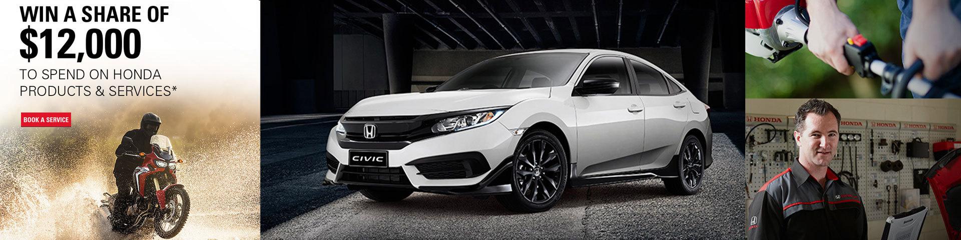 Honda Service Competition