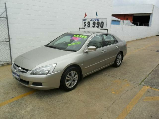 Used Honda Accord VTi, Redcliffe, 2006 Honda Accord VTi Sedan