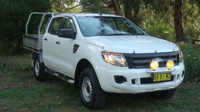 Used Ford Ranger XL Double Cab, Queanbeyan, 2013 Ford Ranger XL Double Cab Cab Chassis