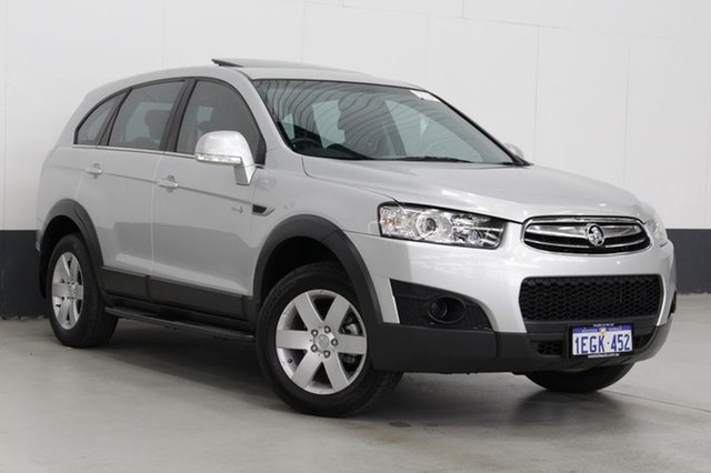 Used Holden Captiva 7 SX (FWD), Bentley, 2013 Holden Captiva 7 SX (FWD) Wagon