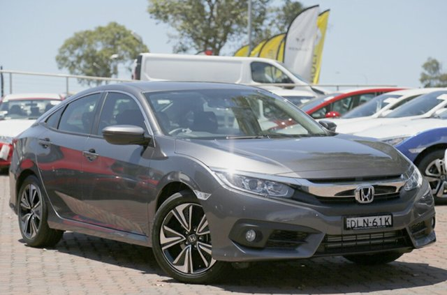 Discounted Demonstrator, Demo, Near New Honda Civic VTi-L, Narellan, 2016 Honda Civic VTi-L Sedan