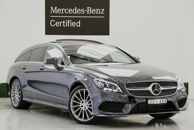 Used Mercedes-Benz CLS250D d Shooting Brake 7G-Tronic +, Narellan, 2016 Mercedes-Benz CLS250D d Shooting Brake 7G-Tronic + Wagon