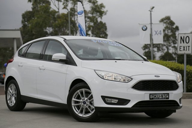 Discounted Demonstrator, Demo, Near New Ford Focus Trend, Narellan, 2016 Ford Focus Trend Hatchback