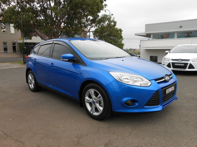 Used Ford Focus Trend PwrShift, Nowra, 2014 Ford Focus Trend PwrShift LW MKII MY14 Hatchback