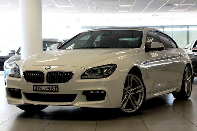 Used BMW 640i Gran Coupe, Brookvale, 2016 BMW 640i Gran Coupe Coupe