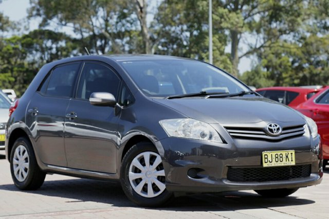 Used Toyota Corolla Ascent, Warwick Farm, 2010 Toyota Corolla Ascent Hatchback
