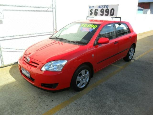 Used Toyota Corolla Ascent, Redcliffe, 2005 Toyota Corolla Ascent Hatchback