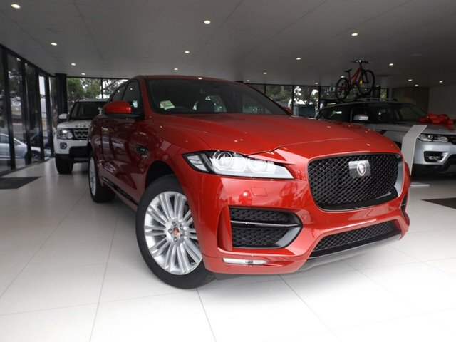 Discounted Demonstrator, Demo, Near New Jaguar F-PACE 35t AWD R-Sport, Toowoomba, 2016 Jaguar F-PACE 35t AWD R-Sport Wagon