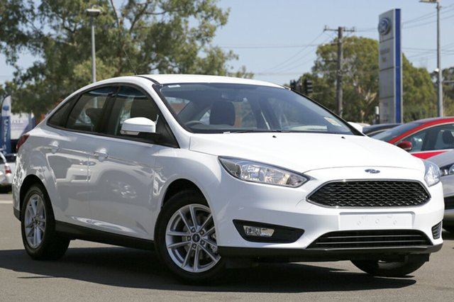 Demonstrator, Demo, Near New Ford Focus Trend, Narellan, 2016 Ford Focus Trend Sedan