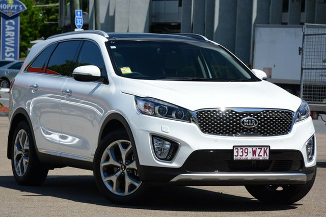 Demonstrator, Demo, Near New Kia Sorento Platinum AWD, Toowong, 2016 Kia Sorento Platinum AWD Wagon