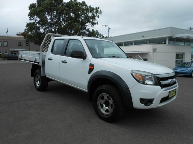Used Ford Ranger XL Crew Cab, Nowra, 2009 Ford Ranger XL Crew Cab PK Dual Cab