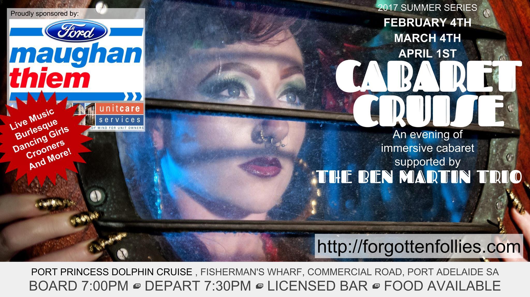 Cabaret Cruise February 4th