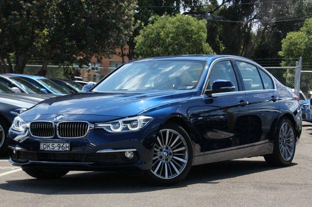Demonstrator, Demo, Near New BMW 320D Luxury Line, Brookvale, 2015 BMW 320D Luxury Line Sedan