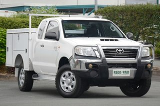 Discounted Used Toyota Hilux SR Xtra Cab, Acacia Ridge, 2012 Toyota Hilux SR Xtra Cab KUN26R MY12 Cab Chassis