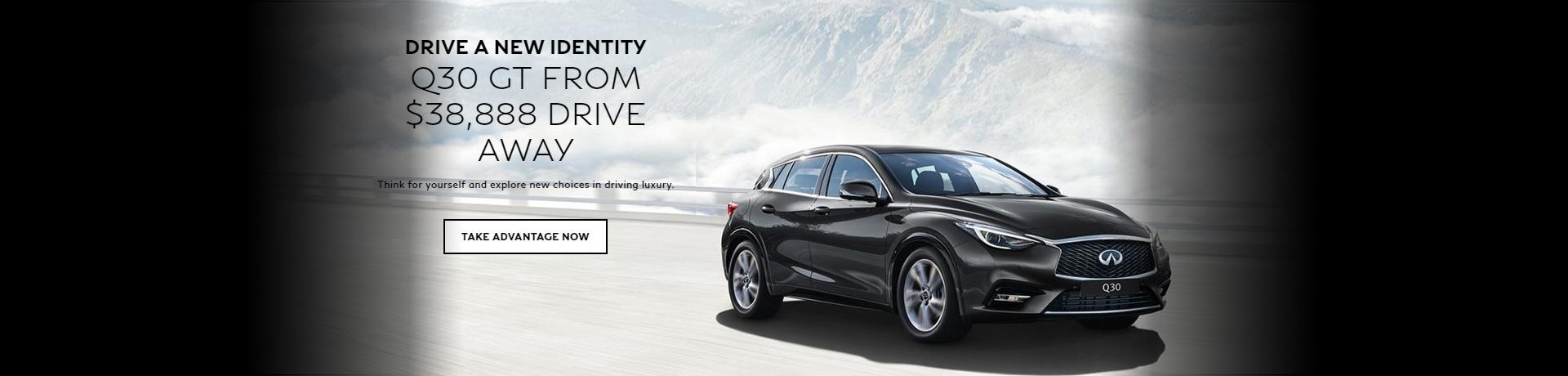 Infiniti - Drive a new identity