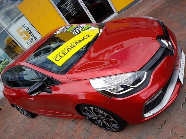 Discounted Demonstrator, Demo, Near New Renault Clio R.S. 220 EDC Trophy, Warwick Farm, 2016 Renault Clio R.S. 220 EDC Trophy Hatchback